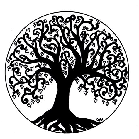 Tree Of Life Art | Image of Tree of Life and Love | Tree ...
