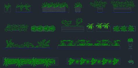 Trees and Plant CAD Block     Free CAD Blocks And CAD Drawing