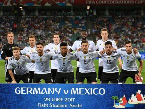 Tremenda marca: Selección de Alemania, once años seguidos ...
