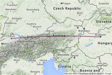 Tren Budapeste Zurich desde USD49 - Horarios y Billetes