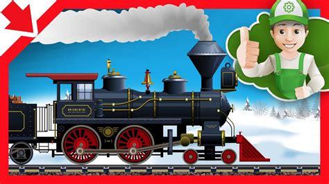 Tren en español para niños. Tren Dibujos animados para ...