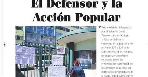 Tren Fugitivo Boliviano: La Acción Popular del Defensor ...