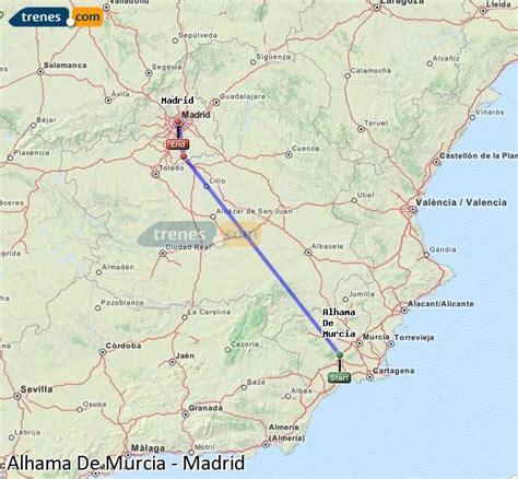 Trenes Alhama De Murcia Madrid baratos, billetes desde 42 ...