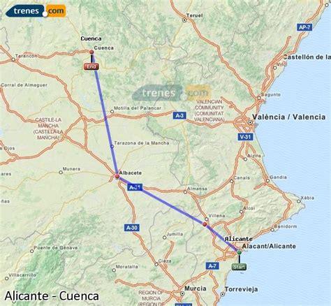 Trenes Alicante Cuenca baratos, billetes desde 19,95 ...