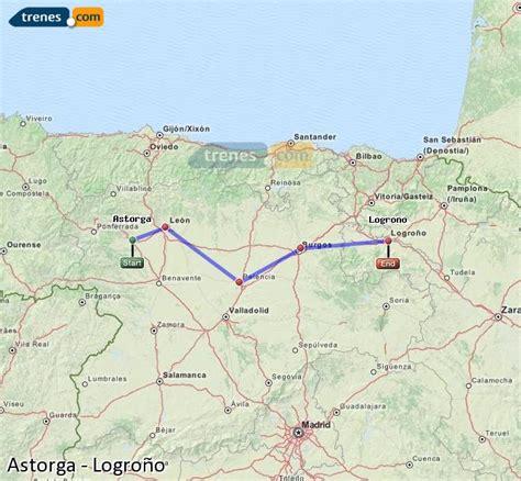 Trenes Astorga Logroño baratos, billetes desde 37,45 ...