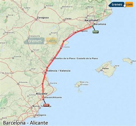 Trenes Barcelona Alicante baratos, billetes desde 30,30 ...