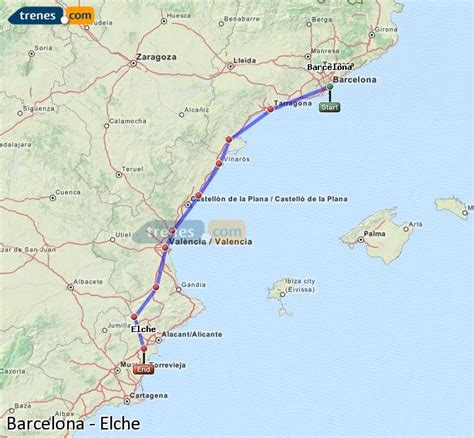 Trenes Barcelona Elche baratos, billetes desde 38,25 ...