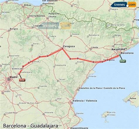 Trenes Barcelona Guadalajara baratos, billetes desde 32,30 ...