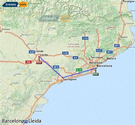 Trenes Barcelona Lleida baratos, billetes desde 8,90 ...