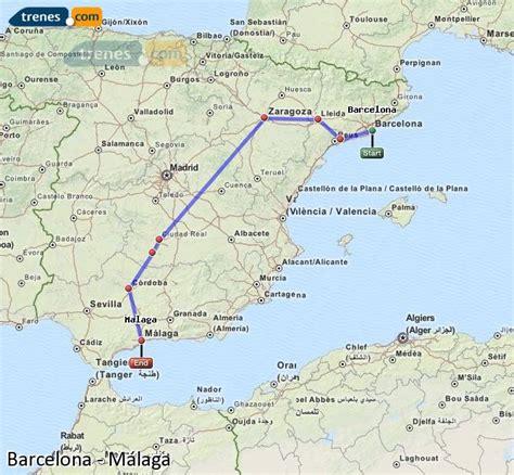 Trenes Barcelona Málaga baratos, billetes desde 59,05 ...
