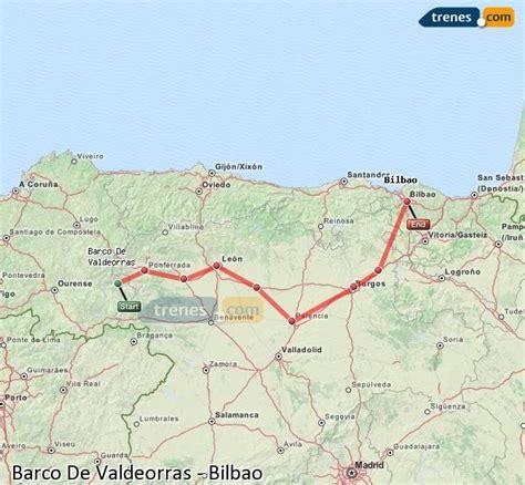 Trenes Barco De Valdeorras Bilbao baratos, billetes desde ...