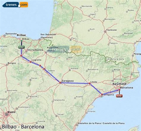 Trenes Bilbao Barcelona baratos, billetes desde 34,35 ...