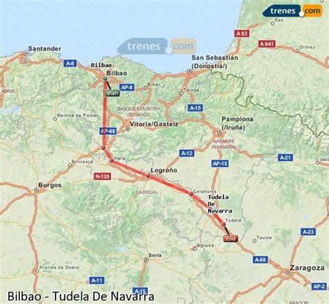 Trenes Bilbao Tudela De Navarra baratos, billetes desde 8 ...
