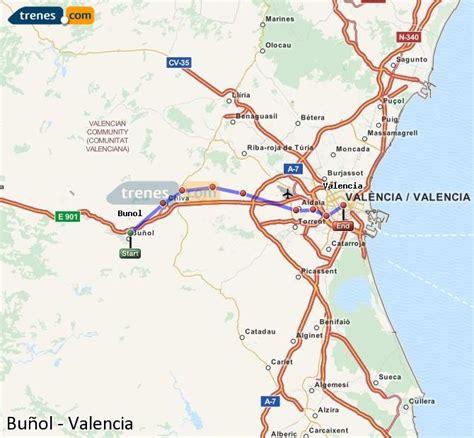 Trenes Buñol Valencia baratos, billetes desde 2,20 ...
