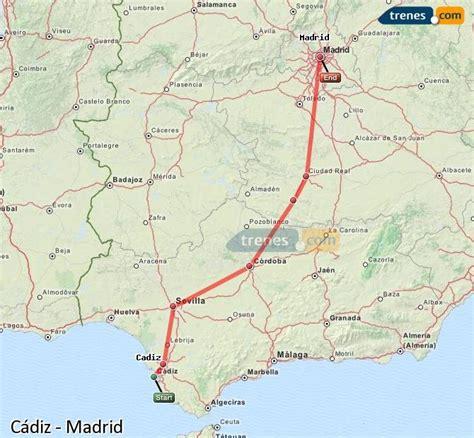 Trenes Cádiz Madrid baratos, billetes desde 72,45 ...