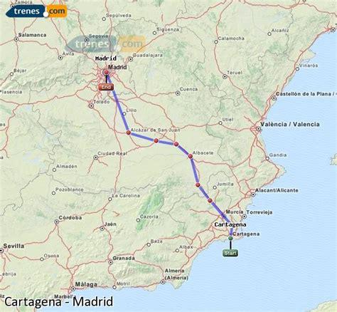 Trenes Cartagena Madrid baratos, billetes desde 15,40 ...