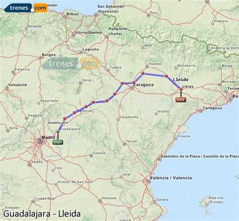 Trenes Guadalajara Lleida baratos, billetes desde 79,80 ...
