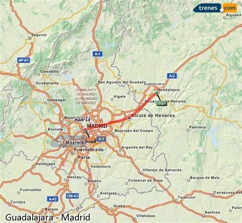 Trenes Guadalajara Madrid baratos, billetes desde 3,65 ...