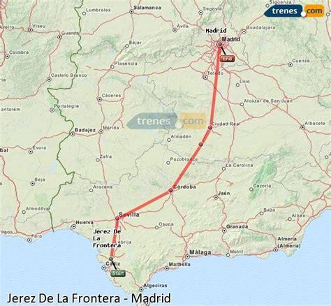 Trenes Jerez De La Frontera Madrid baratos, billetes desde ...