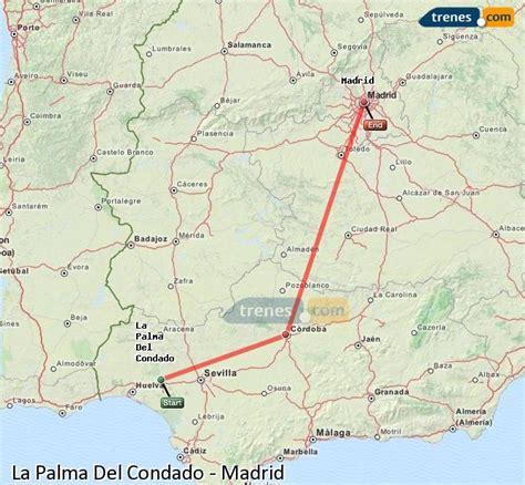 Trenes La Palma Del Condado Madrid baratos, billetes desde ...