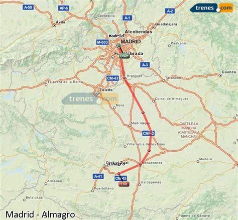 Trenes Madrid Almagro baratos, billetes desde 15,65 ...