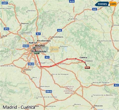 Trenes Madrid Cuenca baratos, billetes desde 8,90 ...