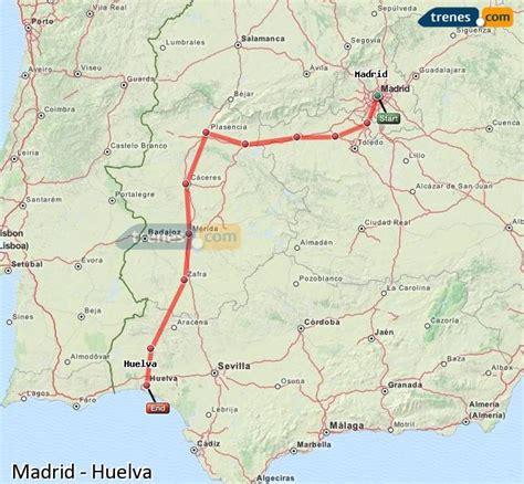 Trenes Madrid Huelva baratos, billetes desde 43,75 ...