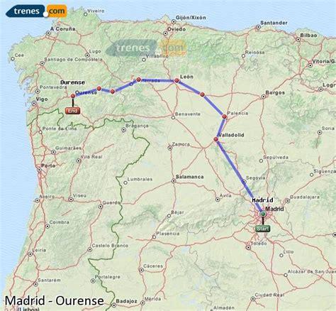 Trenes Madrid Ourense baratos, billetes desde 14,25 ...