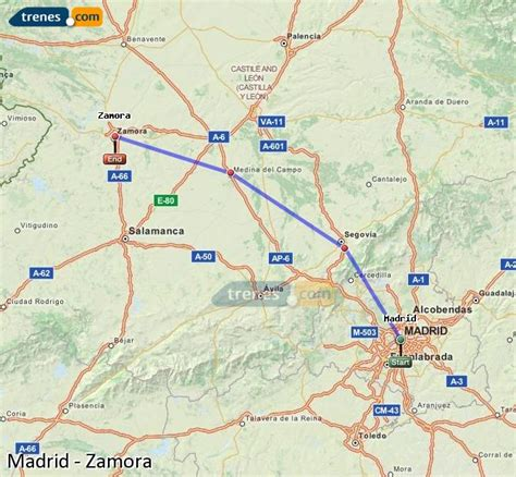 Trenes Madrid Zamora baratos, billetes desde 11,80 ...