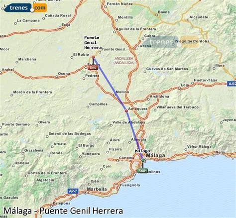 Trenes Málaga Puente Genil Herrera baratos, billetes desde ...