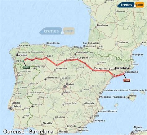 Trenes Ourense Barcelona baratos, billetes desde 35,90 ...
