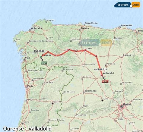 Trenes Ourense Valladolid baratos, billetes desde 34,30 ...