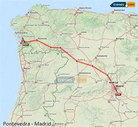 Trenes Pontevedra Madrid baratos, billetes desde 29,50 ...