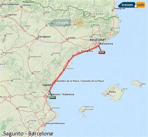 Trenes Sagunto Barcelona baratos, billetes desde 11,50 ...
