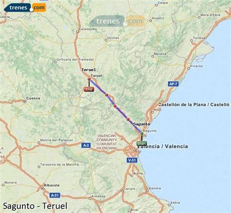 Trenes Sagunto Teruel baratos, billetes desde 6,40 ...