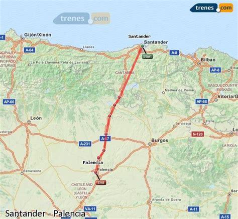 Trenes Santander Palencia baratos, billetes desde 7,95 ...