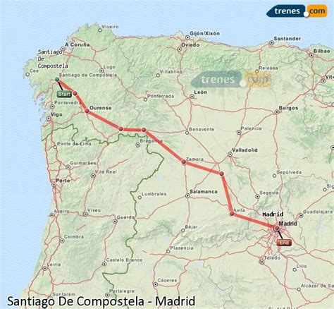 Trenes Santiago De Compostela Madrid baratos, billetes ...