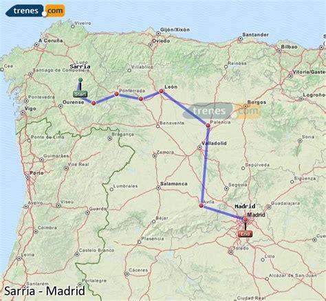 Trenes Sarria Madrid baratos, billetes desde 21,20 ...