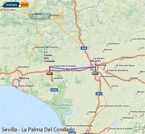 Trenes Sevilla La Palma Del Condado baratos, billetes ...