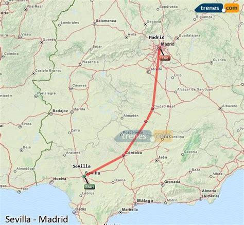 Trenes Sevilla Madrid baratos, billetes desde 36,40 ...