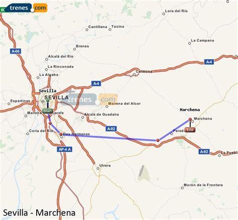 Trenes Sevilla Marchena baratos, billetes desde 4,40 ...