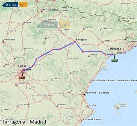 Trenes Tarragona Madrid baratos, billetes desde 23,85 ...