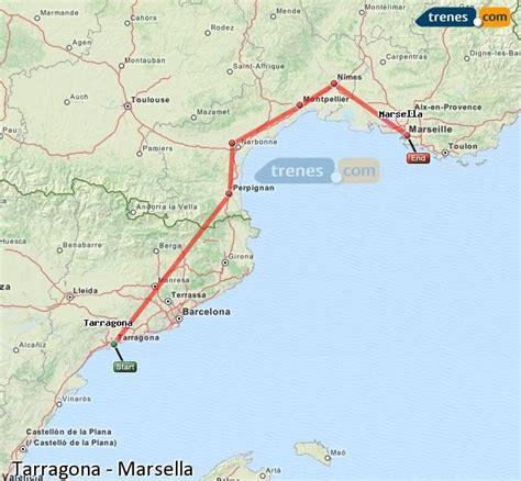 Trenes Tarragona Marsella baratos, billetes desde 82,00 ...