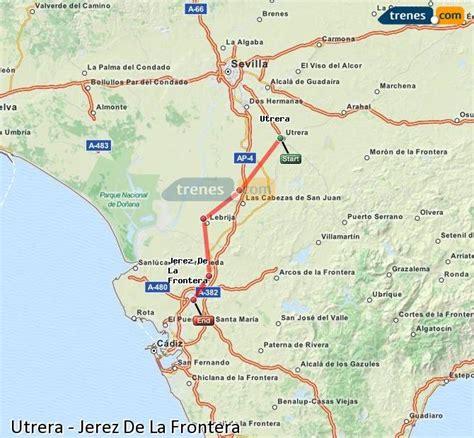 Trenes Utrera Jerez De La Frontera baratos, billetes desde ...