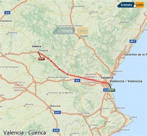 Trenes Valencia Cuenca baratos, billetes desde 12,50 ...