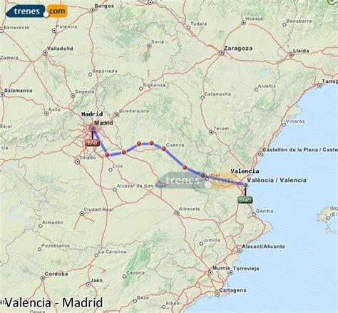 Trenes Valencia Madrid baratos, billetes desde 12,55 ...