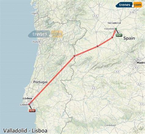 Trenes Valladolid Lisboa baratos, billetes desde 23,20 ...