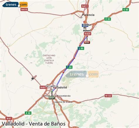 Trenes Valladolid Venta de Baños baratos, billetes desde 5 ...
