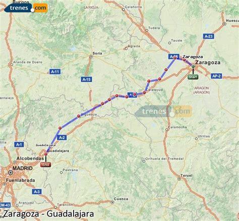 Trenes Zaragoza Guadalajara baratos, billetes desde 13,35 ...