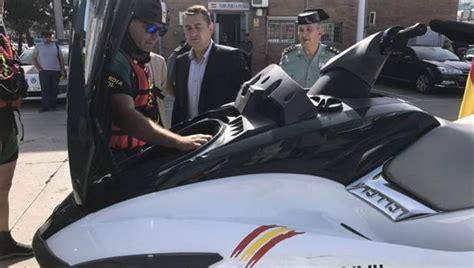 Tres nuevas motos acuáticas para perseguir el narcotráfico ...